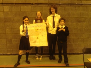 The Champions - Enterprising Maths in Lothian 2014-15